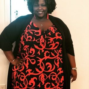 Curvy maxi dress size 6x